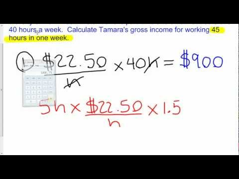 1.4 Calculating Income - Overtime.avi