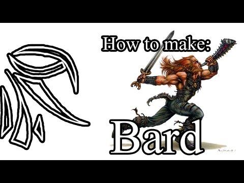 How to make Bard (Halfling,LVL-1)[D&D 5e]