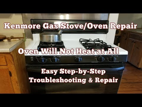 Troubleshooting Why Your Gas Stove Oven Won't Heat or Ignite - Top 5 Reasons