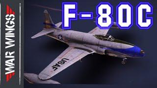 F-80C-10 War Wings Gameplay