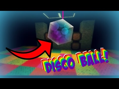How to Make A Working Disco Ball [Minecraft Tutorial | 1.11+ Shulker Trick]