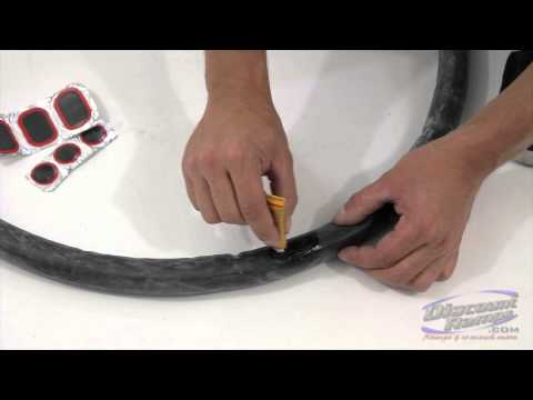 How To Fix A Punctured Bicycle Tube