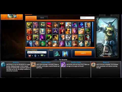 How to unlock all champions and skins in league of legends NEW PATCH
