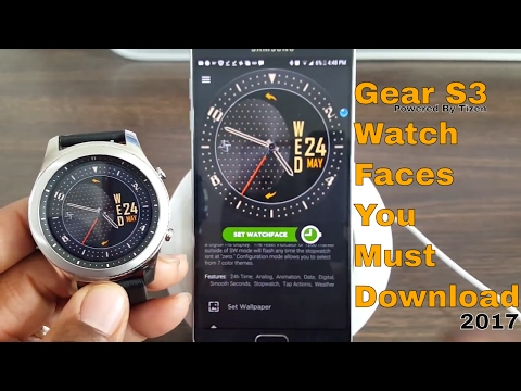 Gear S3 Watch Faces You Must Download 2018