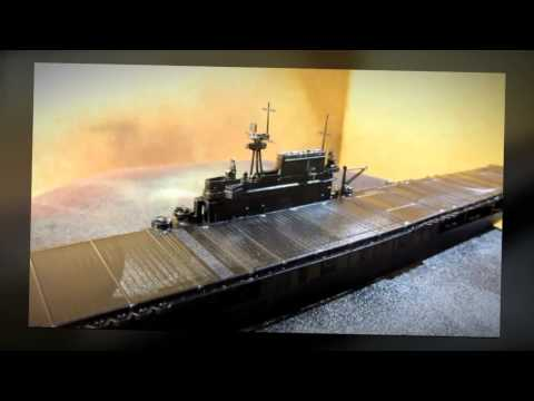 Building Tamiya USS Hornet Aircraft Carrier. Complete from Start to Finish