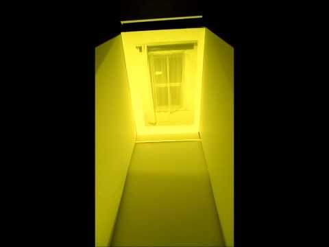 Window corridor close up colour