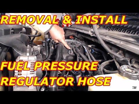 Fuel Pressure Regulator Vacuum Hose Replacement