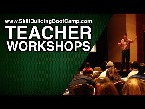 Teacher Workshops with Jacob Clifford