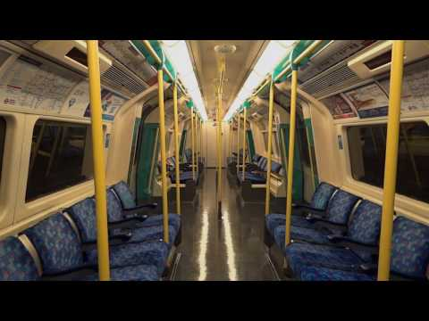 London Underground: Ride 1996 Tube Stock North Greenwich - Canary Wharf (Jubilee Line) [1080p50 ᴴᴰ]