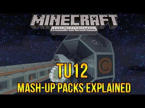 Minecraft Xbox 360: TU12 Mash Up Packs Explained - Texture Packs
