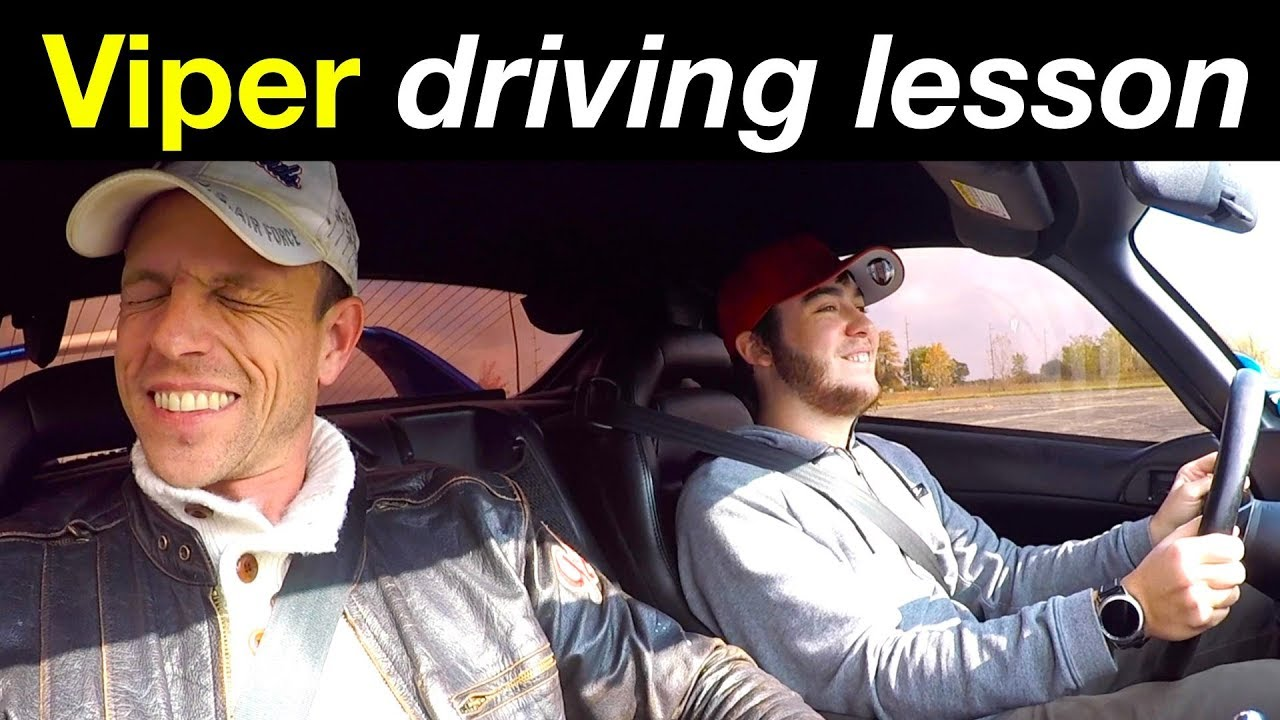 Is a Dodge Viper good for a first time manual transmission driver?