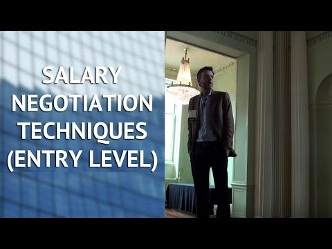 Salary Negotiation Techniques for Entry Level Marketers