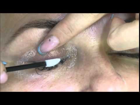 How i clean eyelashes before extensions application - Lash Harmony by Inesa Svetkina