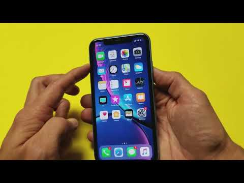 iPhone XR: How to Turn Off / Power Down (3 Ways)