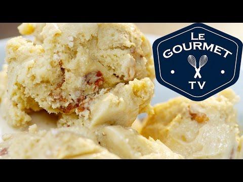 Home Made Butter Pecan Ice Cream || Le Gourmet TV Recipes