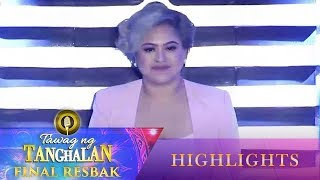 Kim Nemenzo remains to be seated in the Final Seat of Power | Tawag ng Tanghalan