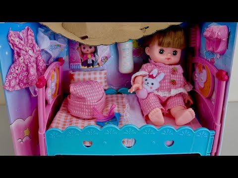 Baby Doll & Dolls Bed Nursery Set Baby Annabell Bedroom Nursery Center Toys Play Baby Doli