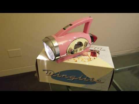 Winglite Vintage 1950s Style Radio Headlamp Flashlight FOR SALE