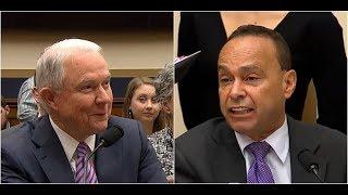 Attorney General Jeff Sessions DESTROYS LEFTIST Rep.Gutierrez on the CLINTON Investigation