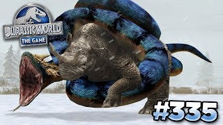 GIANT SNAKE TAKES OVER!!! || Jurassic World - The Game - Ep335 HD