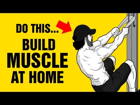 The Perfect Home Muscle Building Workout For Beginners and Teenagers - 100% Bodyweight