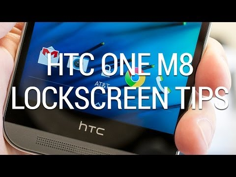 HTC One M8 tip: How to change lock screen app shortcuts