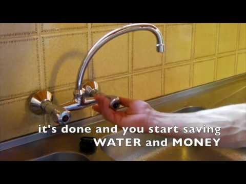 DIY / Install a water saving aerator on your sink tap 2