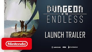 Dungeon of the Endless - Launch Trailer - Nintendo Switch