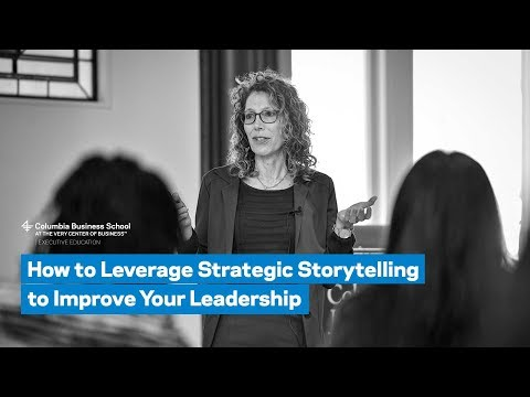 How to Leverage Strategic Storytelling to Improve Your Leadership