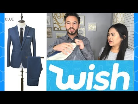 $17 Men's Suit From WISH: Actually Worth it?