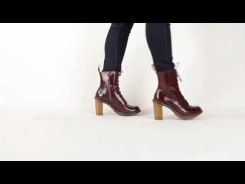 Dr. Martens Sadie 8 Tie Boot