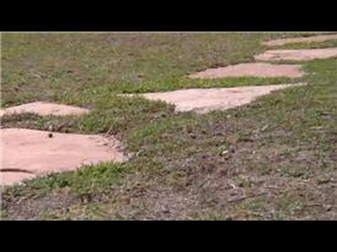 Home Landscaping Tips : How to Place Stepping Stones