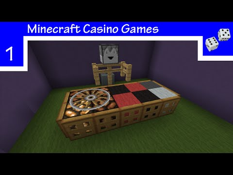 Minecraft Redstone Roulette! - Minecraft  Survival Friendly Casino Games Ep: 1