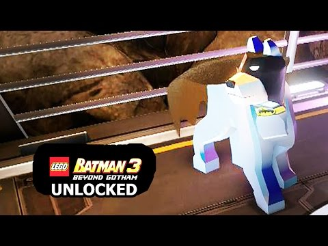 LEGO Batman 3: Beyond Gotham - How to Unlock Ace The Bat Hound + Review