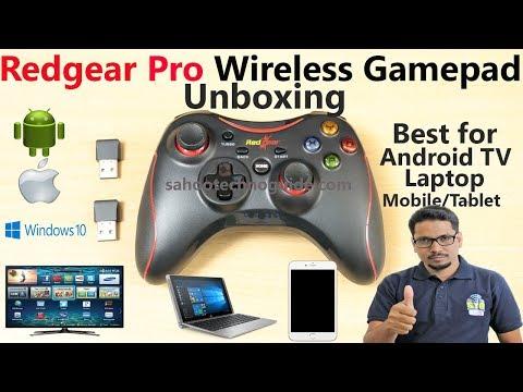 Hindi || Redgear Pro Wireless Gamepad Unboxing