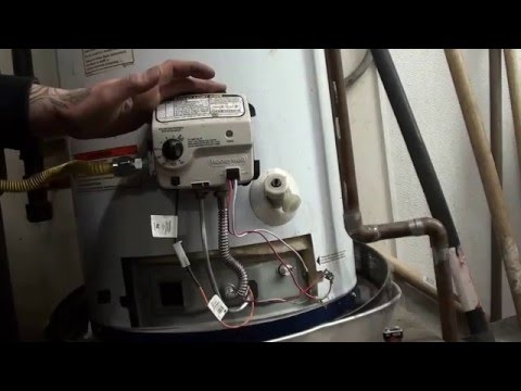 how to diy fix a honeywell water heater temprature control valve with  code 4 flashes