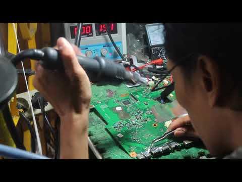 memperbaiki laptop Toshiba c640 USB gak deteck gak berfungsi fungsi