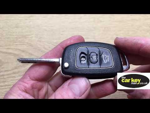 Key Repair Hyundai Kia Flip Key New Style