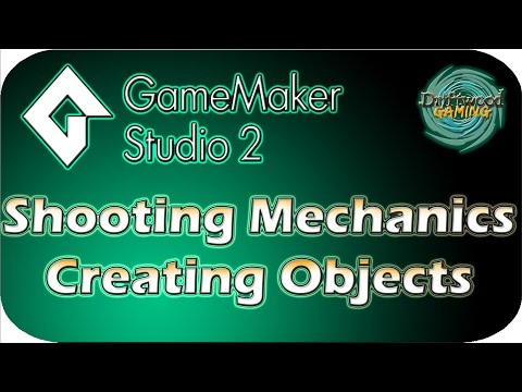 GMS2 Tutorial - Shooting Mechanics - Creating Objects - GameMaker Studio 2 Tutorial