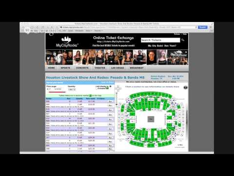 Pesado & Banda MS Houston Rodeo Tickets Reliant Stadium Livestock Show TX 03/16/2014