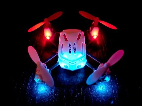 Hubsan Q4 Nano Quadrocopter / Estes Proto X - Maiden Flight in 30% sensitivity mode