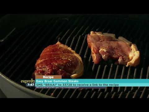 Braai Friday: Easy Braai Gammon Steaks