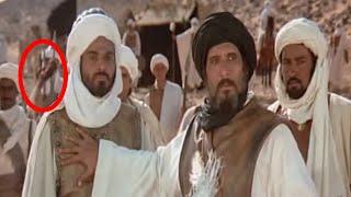 ثلاثه أخطاء فادحه ظهرت في اشهر 3 افلام عربيه | فيلم الرسالة | فيلم عمر المختار | فيلم عنتر