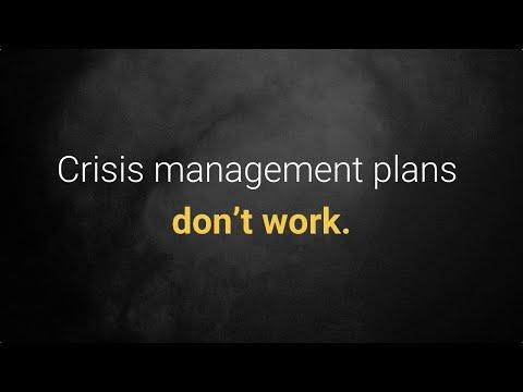 Why Crisis Management Plans Don't Work - Crisis Department