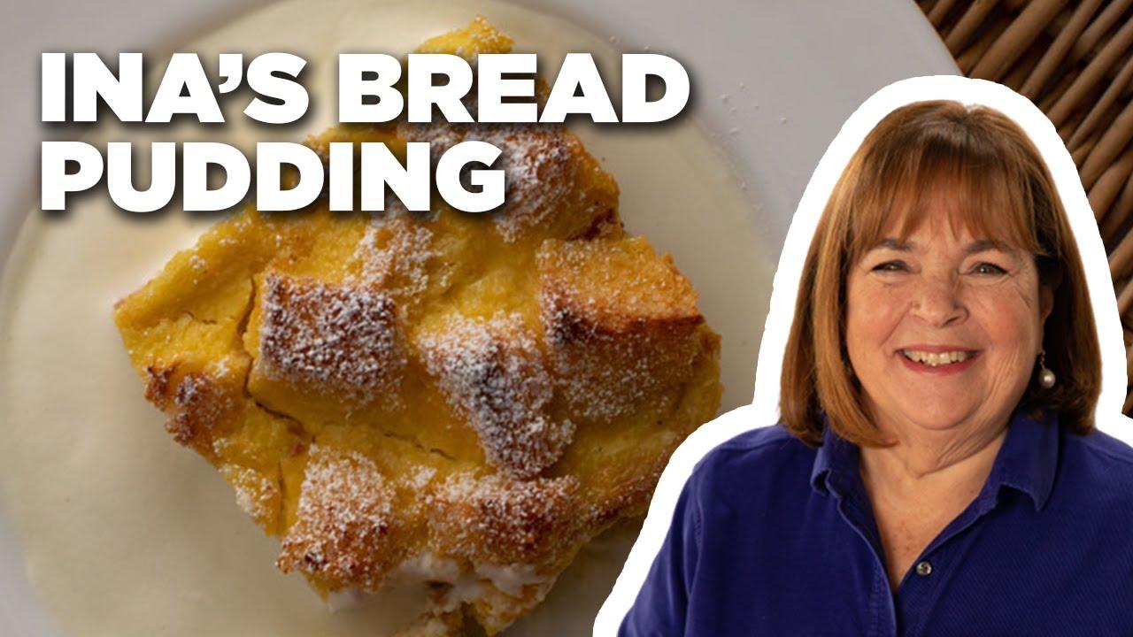 Barefoot Contessa's Vanilla Brioche Bread Pudding   Cook Like a Pro   Food Network