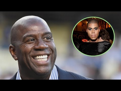 Magic Johnson Opens Up About Accepting Son EJ's Sexuality: 'You Gotta Support Your Child'