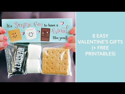 8 Simple Valentine's Day Gifts (FREE Printables Included)