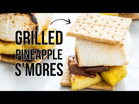 Grilled Pineapple S'mores