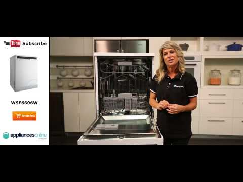 Westinghouse Dishwasher WSF6606W Reviewed by product expert - Appliances Online