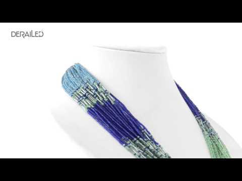 Cara Seed Bead Multi-Strand Necklace